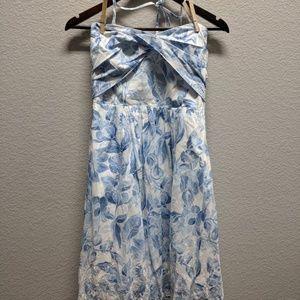 White House Black Market cotton summer dress